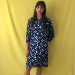 70's shirt dress
